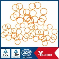 rubber seal bushing o-ring flat silicone rubber o-ring seals