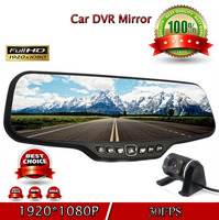 4.3 inch screen double lens reverse car camera universal rear view camera