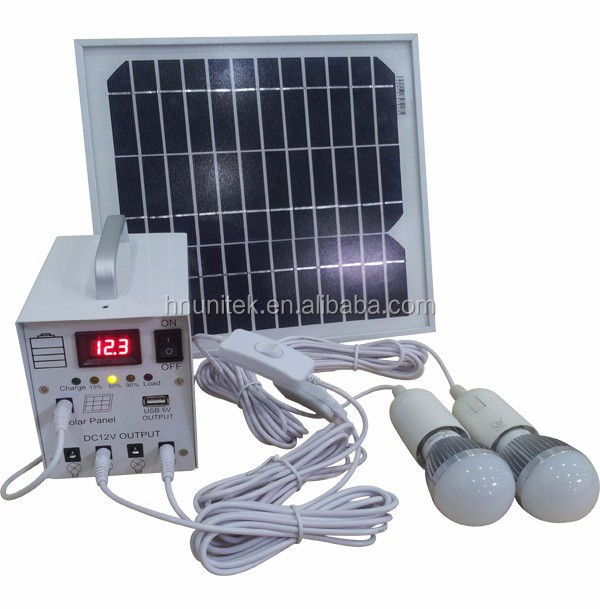 Metal Solar kits 20W Solar Lighting System for Home Use and Outdoor