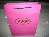 LUXURY PINK KRAFT PAPER SHOPPING GIFT BAGS WHOLESALE