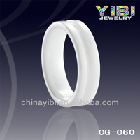 fashion jewelry made in china groove ceramic parts