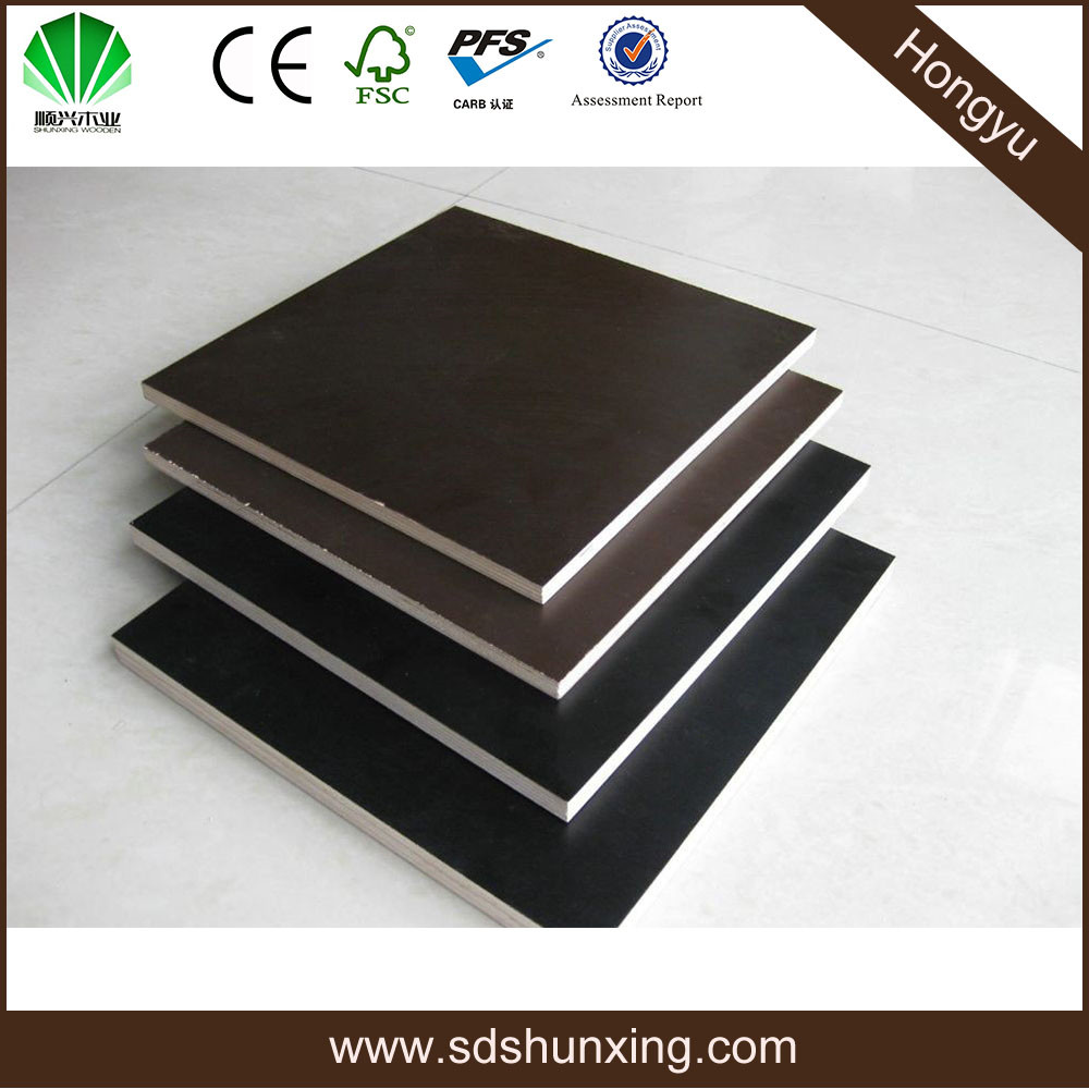 Cheap building construction material/film faced plywood