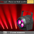 Hot sale 3x4in1 15w led rgbw zoom wash dj lighting par light stand with 12 channel