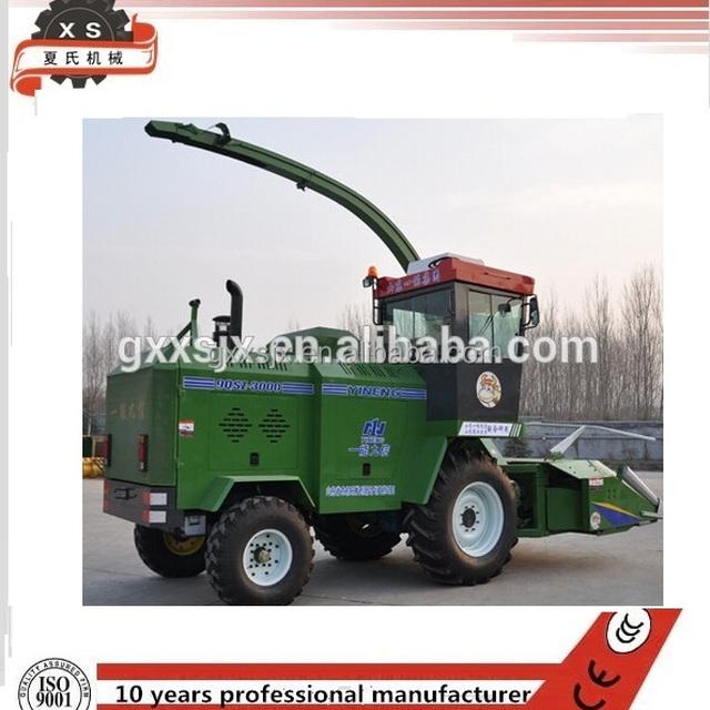 Agricultural machine Glass Straw Wheat /Corn forage combine harvester 9QSZ-3000