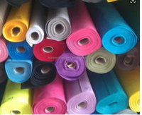 China manufacturer direct cheap needle punched colored polyester felt fabric