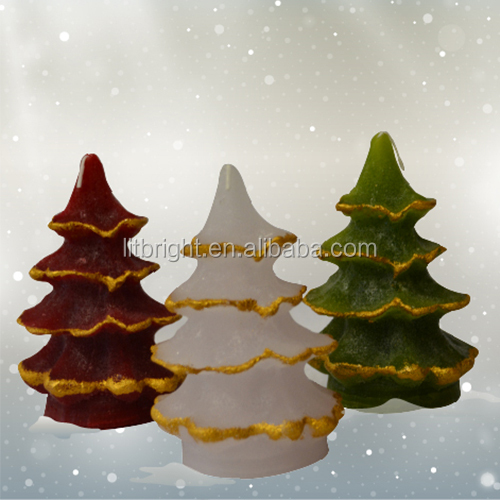 art candle/pine cone candle/christmas three