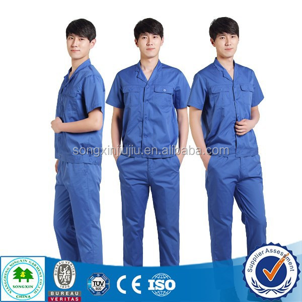 best selling factory worker uniform mechanic work suit Trade Assurance Supplier