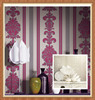 Hot sale heavy vinyl wallpaper with feature of deep embossing
