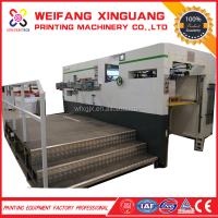 XMQ-1050E New Automatic Corrugated Paperboard Making Printing Slotting Rotary Die Cutting Machine