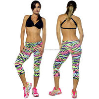 Yoga Custom Design 3/4 Knickers Tight Capri & Running Gym Sports fashion 3/4 Knickers Tight