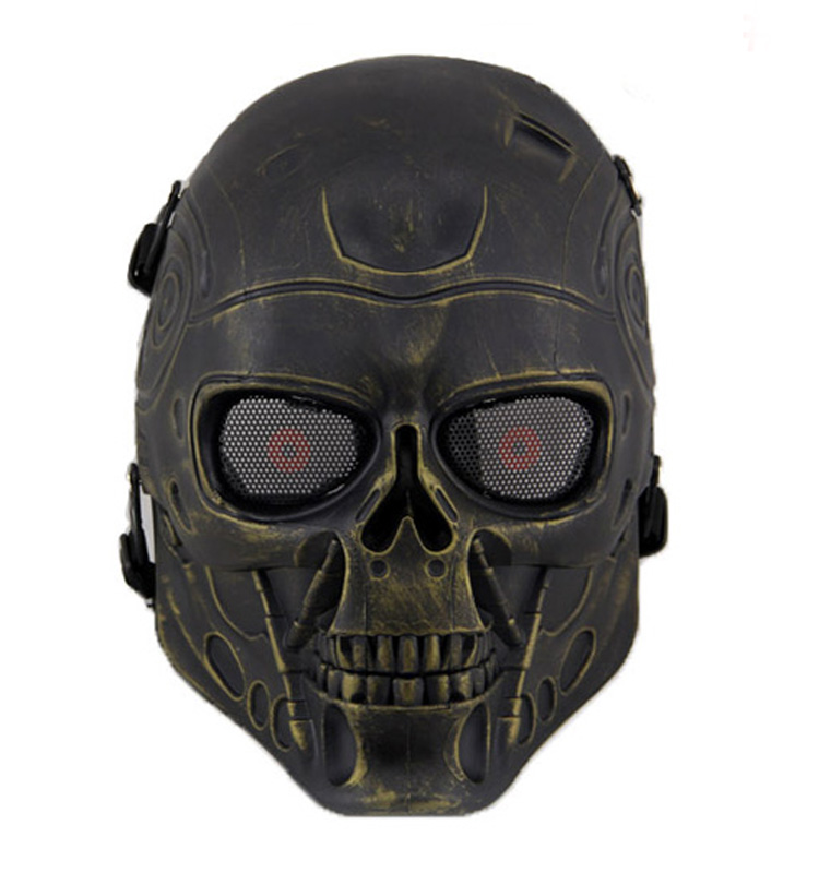 Paintball tactical halloween ghost skeleton terminator mask