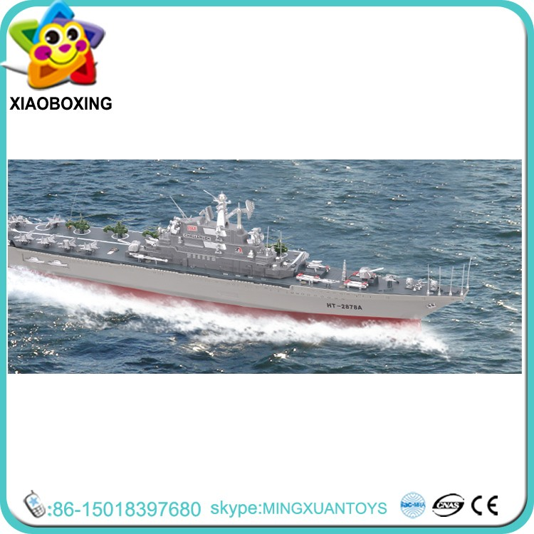 Top selling rc large scale ship models rc model aircraft carrier toy
