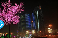 High definition trees Blue, led tree light the professional led outdoor christmas tree light