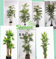 SJLJ013069 hot selling artificial bamboo palm, artificial plant, artificial tree