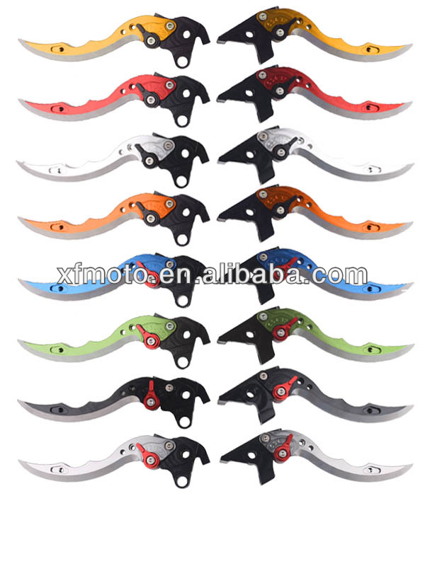 CNC Motorcycle CNC Brake Lever wholesale motorcycle levers for Kawasaki GTR1400/CONCOURS 14 2007-2012( Knife Shape Levers )