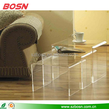 high quality clear acrylic furniture acrylic coffee table