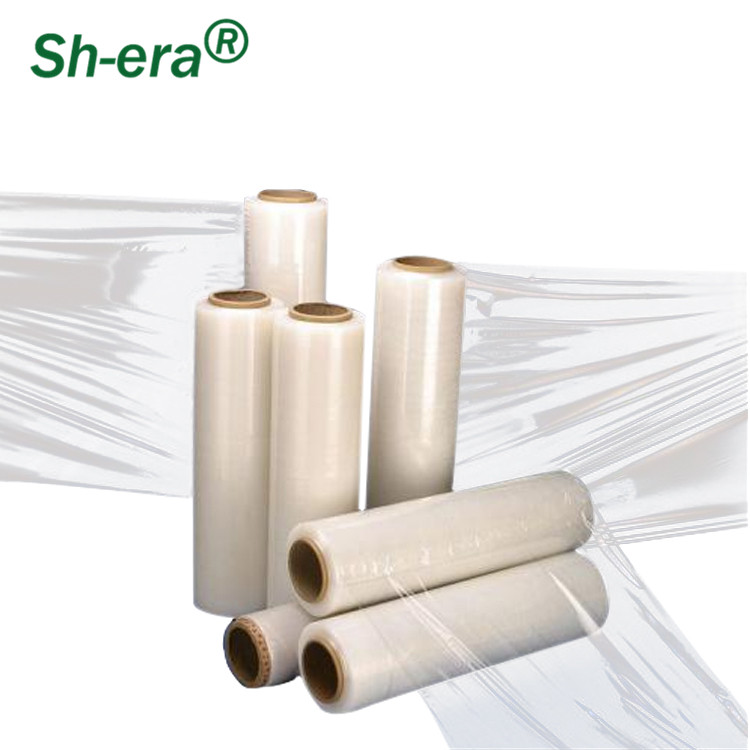 China factory 2018 hot selling stretch film with free samples can be customized
