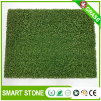 Curly yarn Plastic Turf Artificial Grass For Miniature Golf Course