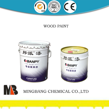 Wooden cabinets matt finish fresh smell wood paint