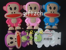 Monkey silicone cell mobile phone case for Blackberry 8520