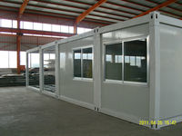 20GP office prefabricated container house