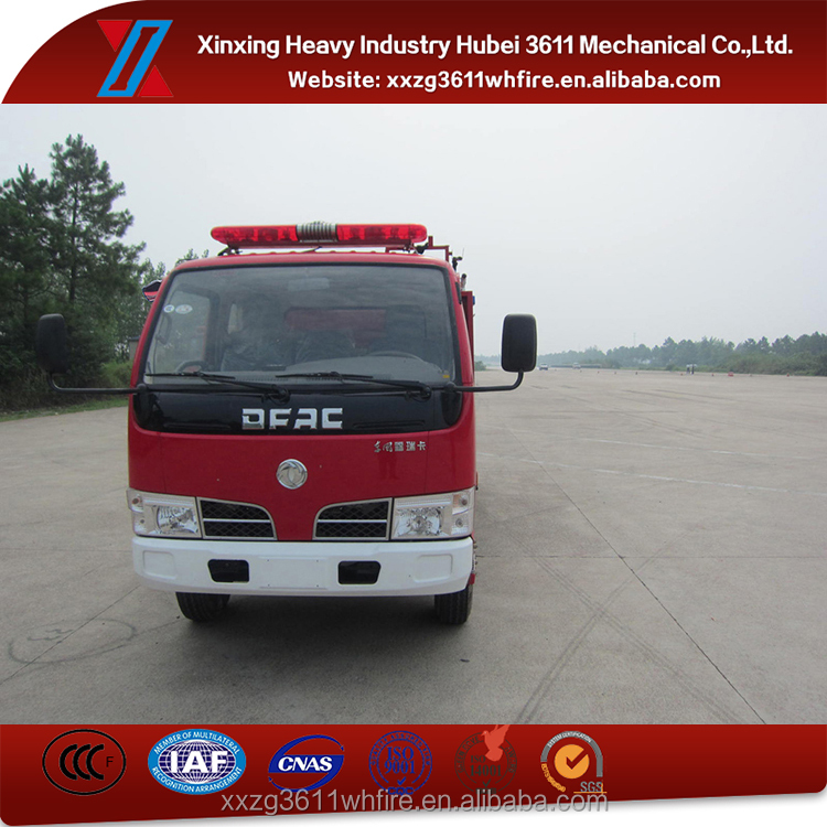 New Products Euro4 Dongfeng Mini Fire Fighting Water Truck