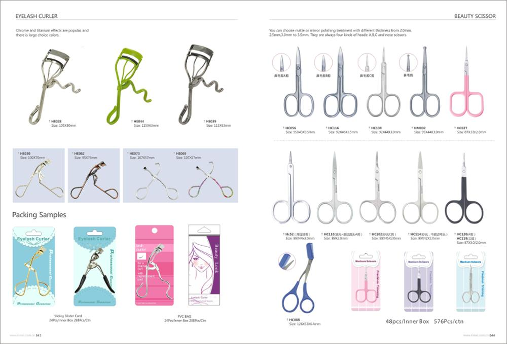 Professional Makeup Tools Eyelash Curler with silicone refill pads
