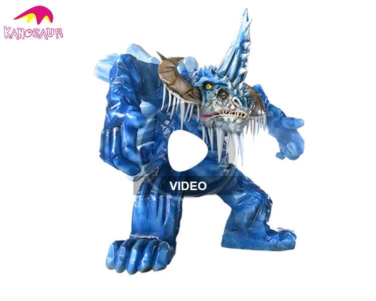 KANO2387 Water Park Waterproof Attractive Animatronic Dragon