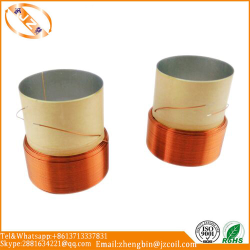 Voice coil speaker voice coil edge wound voice coil
