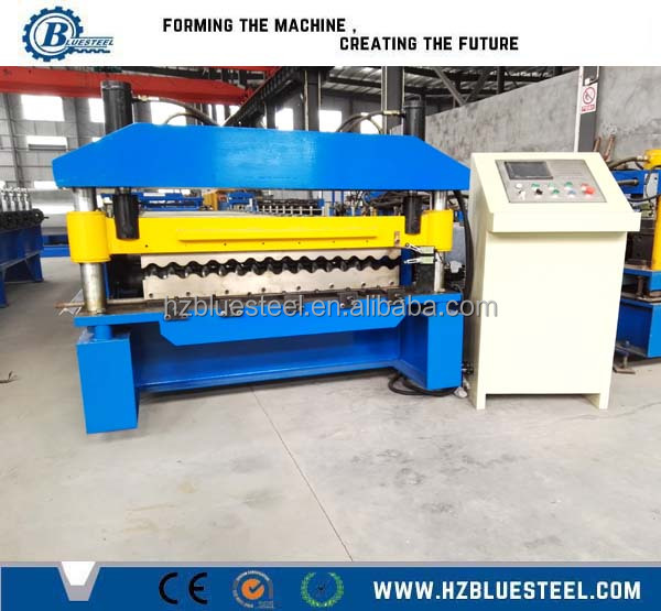 Aluminium Roofing Sheet Making Machine Zinc Roofing Sheet Machinery