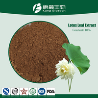 Factory Free sample Blue Lotus Leaf Extract Powder 98% nuciferine lotus leaf extract,lotus leaf powder extract