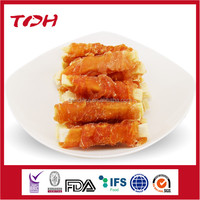 wholesale pet food OEM and ODM service Mixed meat pet snacks Cod Chicken Sandwich Cut