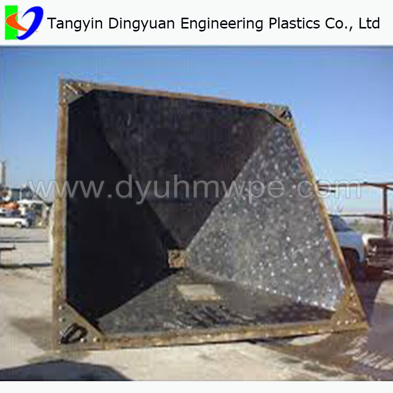 UHMW liners for bunkers chutes Supplier, good quality uhmw plastic linier