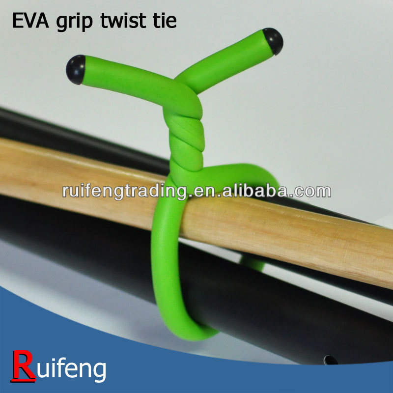 Grip Twist Tie, Fastening Hanging Bundle Quick twist ties