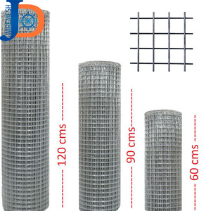 Fencing net iron wire mesh 1/4 inch galvanized welded wire mesh
