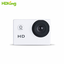HDKing sports camera underwater wifi mini 1080P 720P 30fps 2inch lcd screen hd action camera cheapest