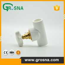 white white handle stop valve flow valve