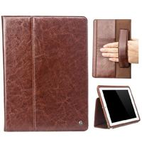 Authentic Napa Leather Slim Case For iPad Air,Real Genuine Leather Wallet Book Case For iPad Air 2