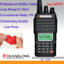popular radio transmitter handy talkie 7 watts 2 way radios
