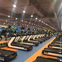 Luxury Commercial Machine Gym Treadmill Land