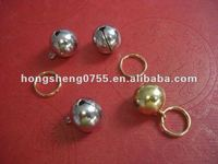 fancy colorful metal silver small bells /HS0745