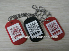So Cool and Colorful dog id tags