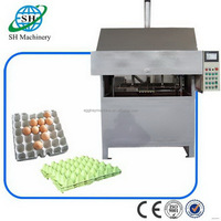 Bottom price promotional high food egg tray box making machine