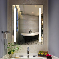 Glass Mirror Wall Heater Panels for Bathroom 150w 600w