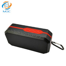 2017 China Good Manufacturer Waterproof Wireless Bluetooth Speaker With Amplifier Subwoofer TF Card FM & Car Audio Support