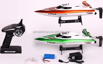 FT009 aluminum boat, waterproof speed boat yacht boat rc toy