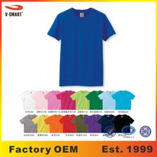 AT022 Woman Preshrunk 180g Blank 100% Cotton T-shirts Manufacturers Wholesale 31 Colors 7 Sizes in Stock + Custom Design