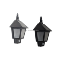 Solar eyelid indoor+outdoor deck stickable led lawn garden lamp light