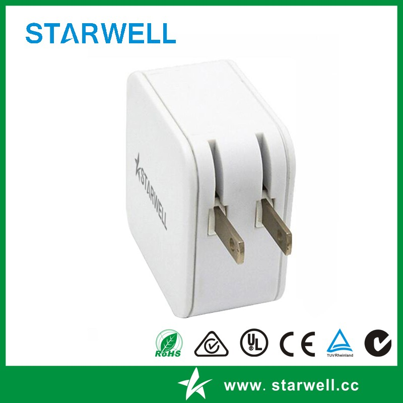 Hot sell USB power adapter dual ports