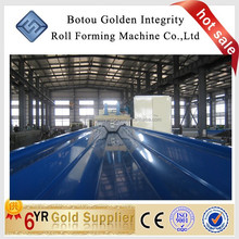 JCX-914-610 no-girder k type super arch roof cold roll forming machine